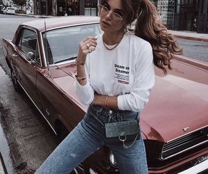 fashion, outfit, and car image
