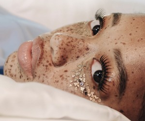 beautiful, freckles, and photography image