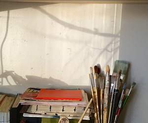 art, paint, and room image