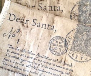 christmas, Letter, and santa image