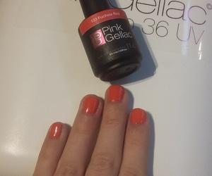 gellak, nails, and pinkgellac image