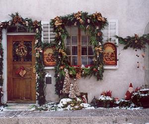 christmas, december, and christmas decoration image