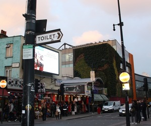 camden, camden town, and Great Britain image