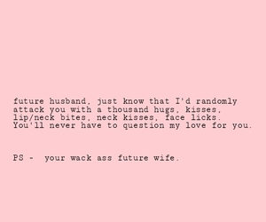 future husband, love, and affectionate she is. image