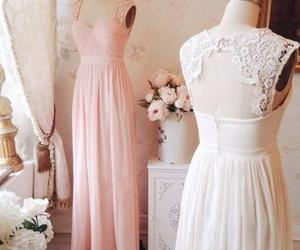 weddings, vintage bridesmaid dress, and lace bridesmaid dress image