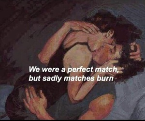 love, match, and quote image