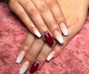 bauty, nails, and women image