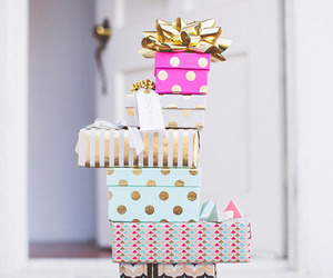 gifts, xmas, and presents image