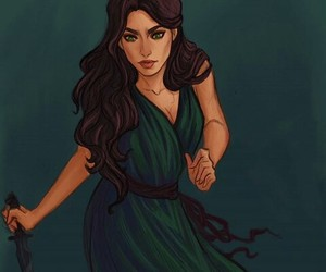 shapeshifter, lysandra, and throne of glass image