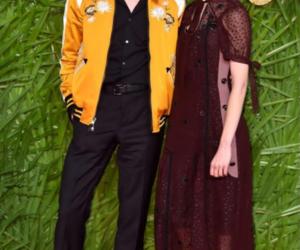 natalia dyer, charlie heaton, and couple image
