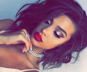 makeup, hearting, and weheartit image