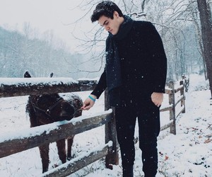 black, ethan, and winter image