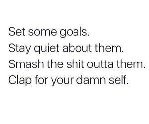 goals, quotes, and quiet image