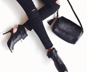 fashion boots black image