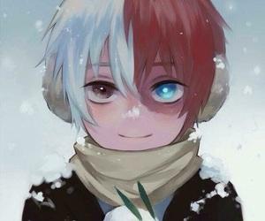 todoroki, anime, and hero image