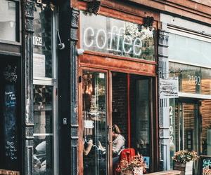 coffee, coffee shop, and shop image
