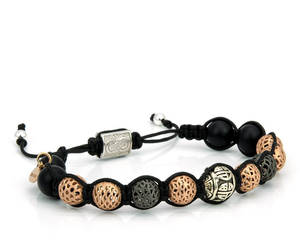 etsy, mens jewelry, and silver bracelet image