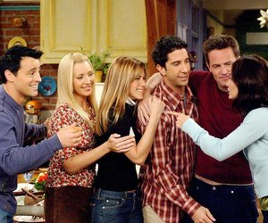 friends, rachel, and chandler image