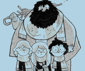harry potter, wallpaper, and hagrid image