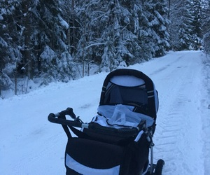 baby, finland, and winter wonderland image