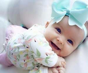 baby, smile, and cute image
