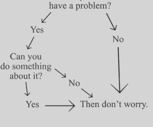 problem, quotes, and don't worry image
