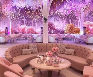 wedding, pink, and luxury image