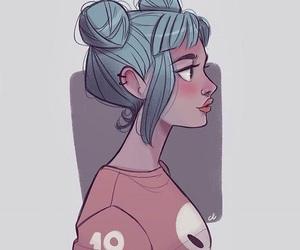 cool and girl image