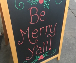 christmas, sign, and holiday image