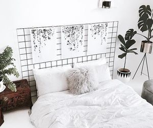 decor, design, and white room image