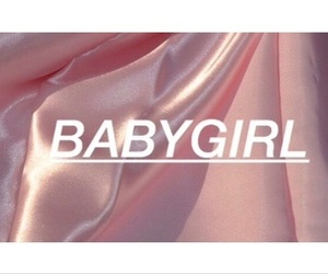 pink, babygirl, and baby image