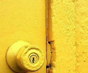 yellow, door, and photography image