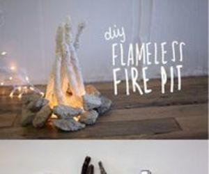 diy, fire, and decor image