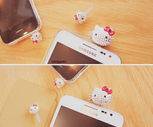 case, deco, and hello kitty image