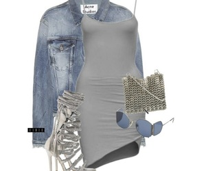 dress, outfits, and Polyvore image
