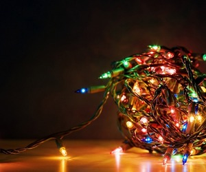 christmas, snow, and christmas magic image
