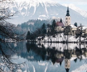 travel, nature, and snow image