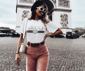 fashion, girl, and gucci image