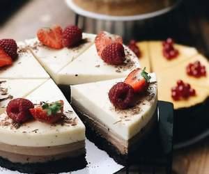 cake, cheesecake, and tarte image
