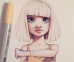 ️sia, art, and draw image