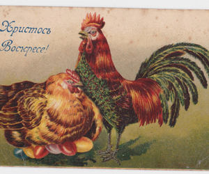 christmas, etsy, and old postcards image