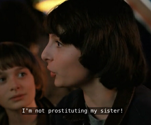 stranger things, aesthetic, and funny image