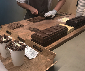 aesthetic, brown, and chocolate image