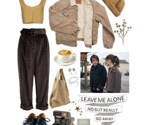 outfit, Polyvore, and stranger things image