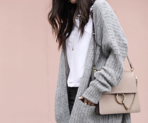 bag, jeans, and style image