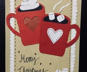 card, chocolate, and christmas image