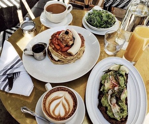 brunch, coffee, and food image