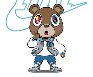 kanye west and dropout bear image