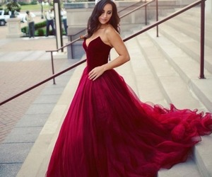 beauty, gown, and classy image