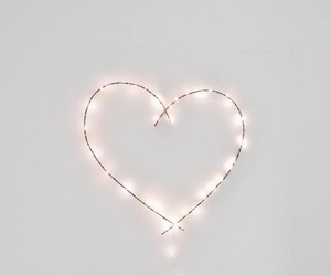 heart, light, and wallpaper image